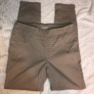 CHICO'S BEIGE JEGGING LADIES SIZE 2R/ CHICO OOR